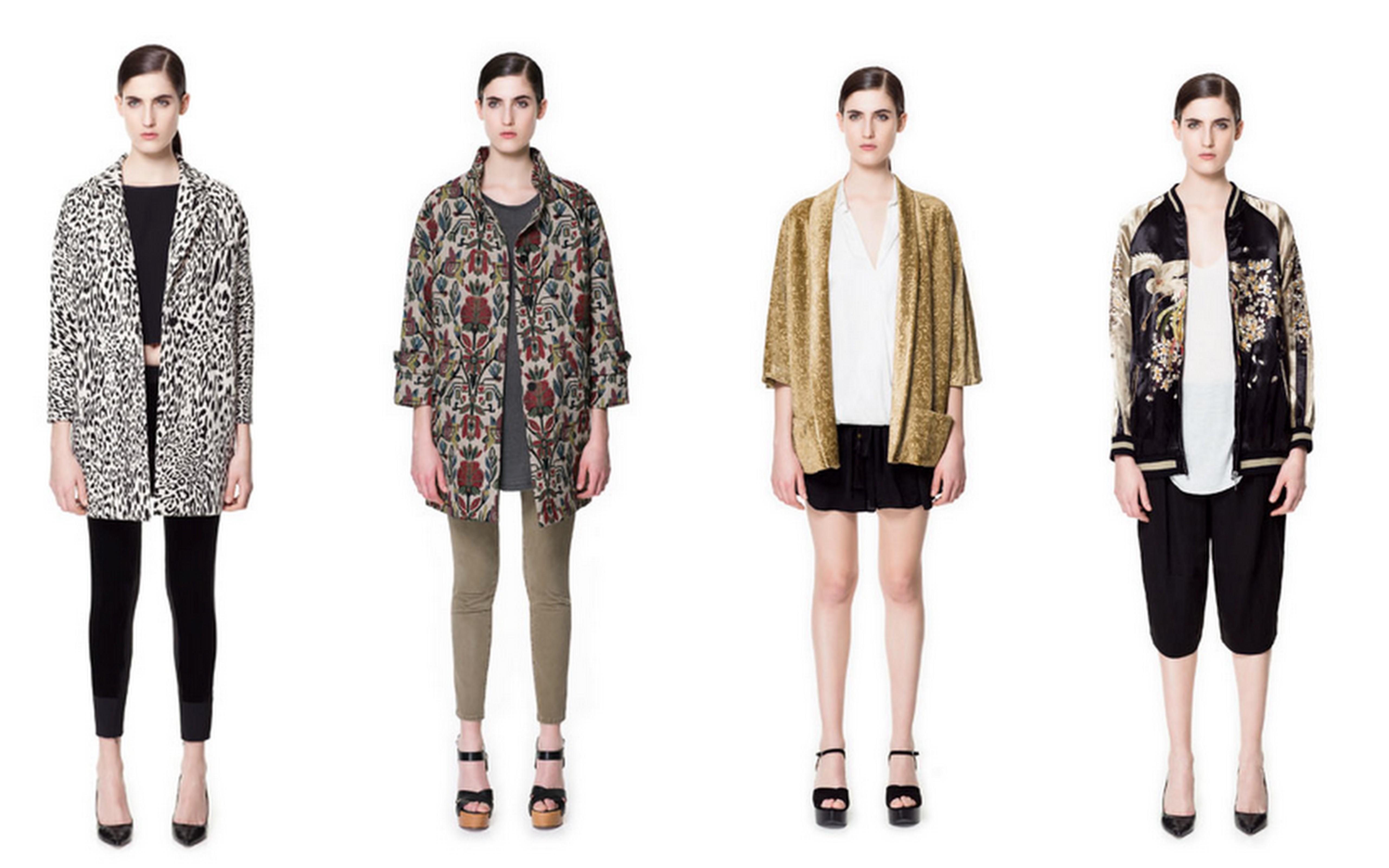 55e6284a white cheetah print coat, floral jacquard carpet bag coat, velvet kimono  coat, embroidered bomber all at Zara.